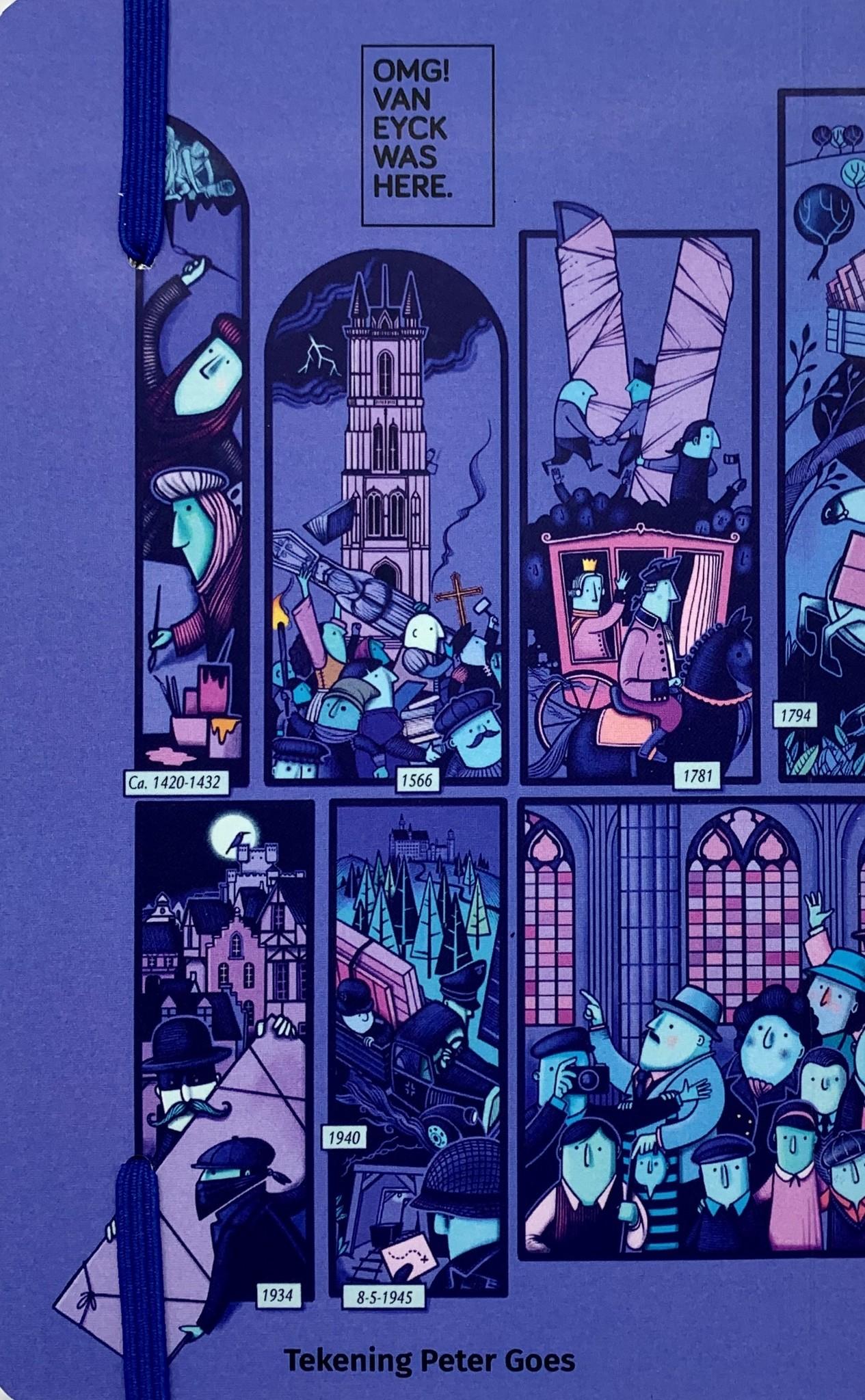 Peter Goes  Notitieboekje met illustratie A6-formaat - Peter Goes