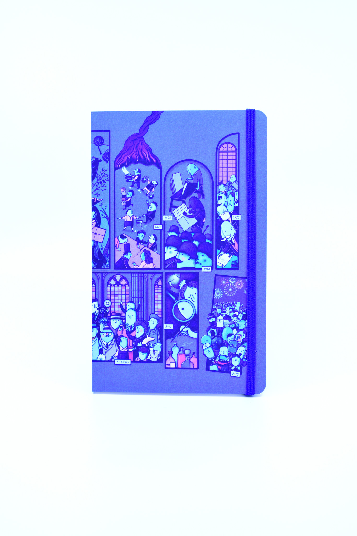 Peter Goes  Illustrated notebook with illustration A6 size - Peter Goes