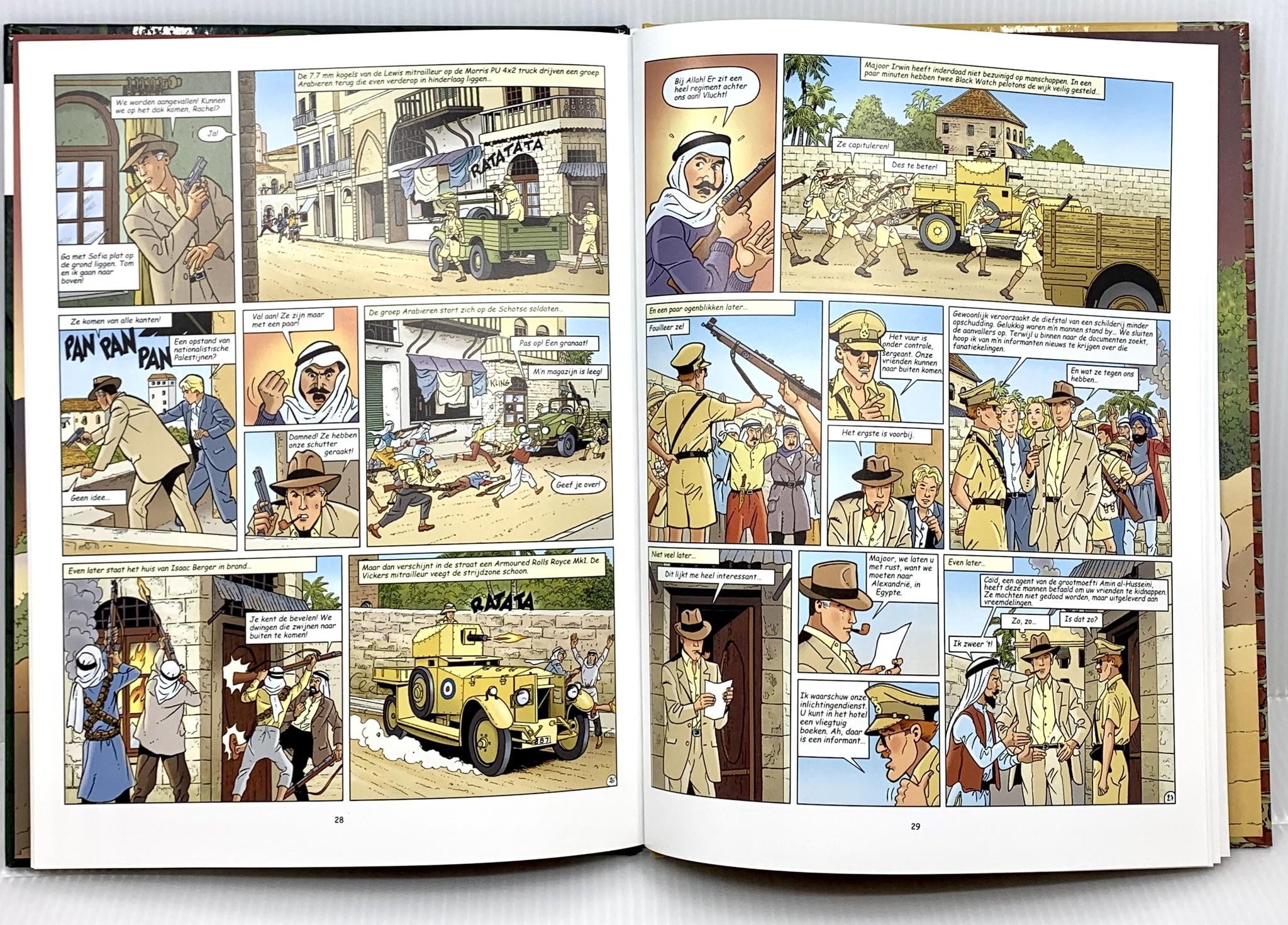 Editions Art & B.D. Stripverhaal Harry Dickson - De diefstal van het Lam Gods en de boodschapper van de goden