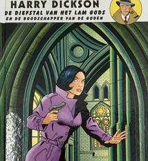 Editions Art & B.D. Comic strip Harry Dickson - The Theft of the Ghent Altarpiece and the Messenger of the Gods.