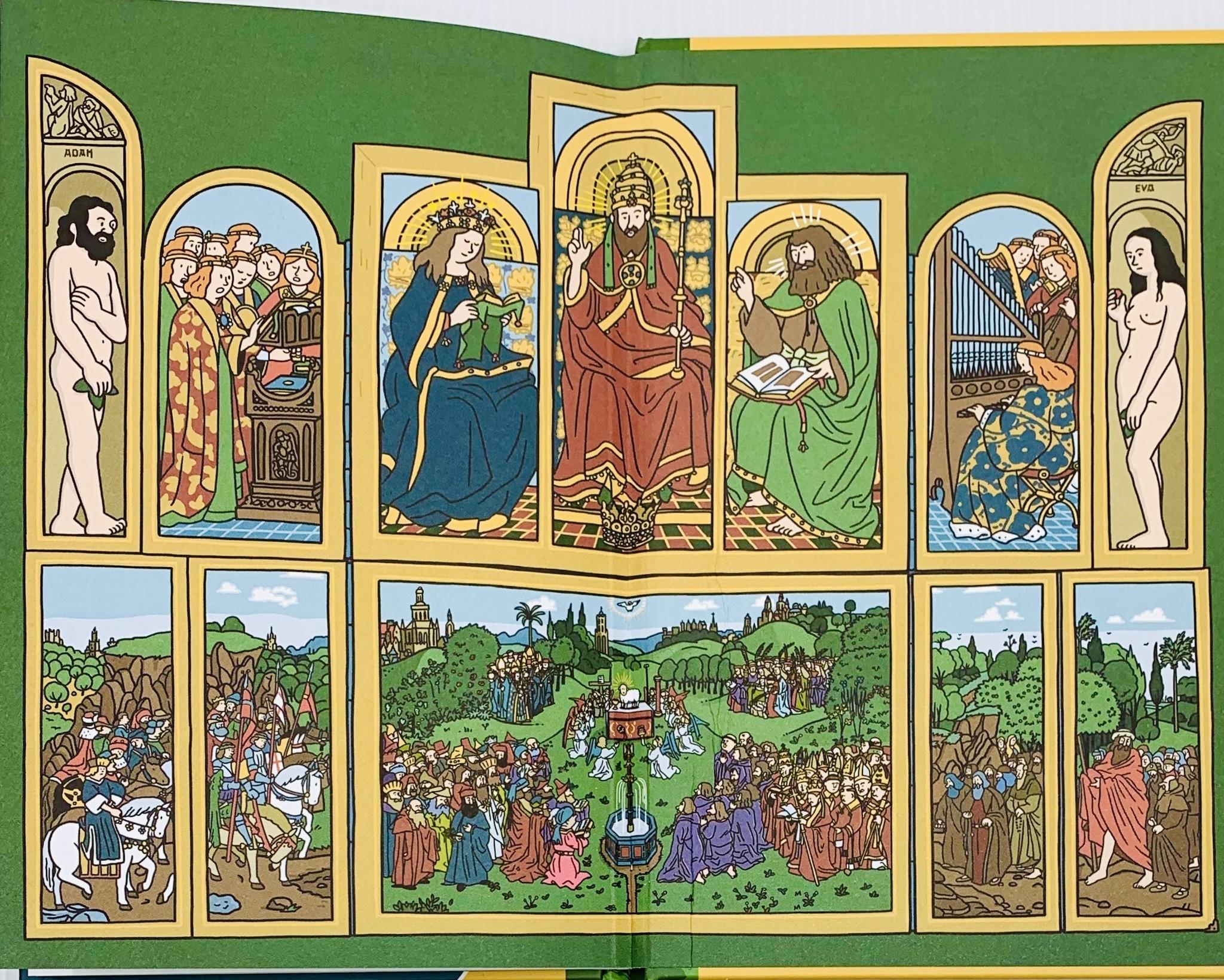 Pieter De Poortere Het verdwenen paneel (The Lost Panel) - Pieter De Poortere