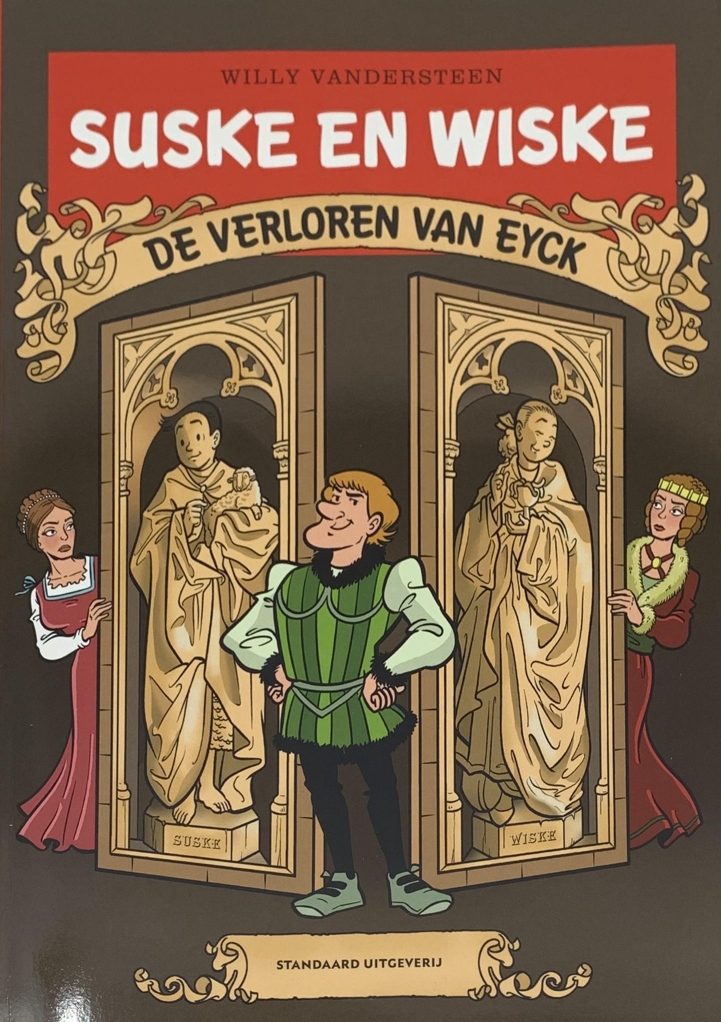 Willy Vandersteen Suske en Wiske - De verloren Van Eyck (Spike and Suzy - The Lost Van Eyck)