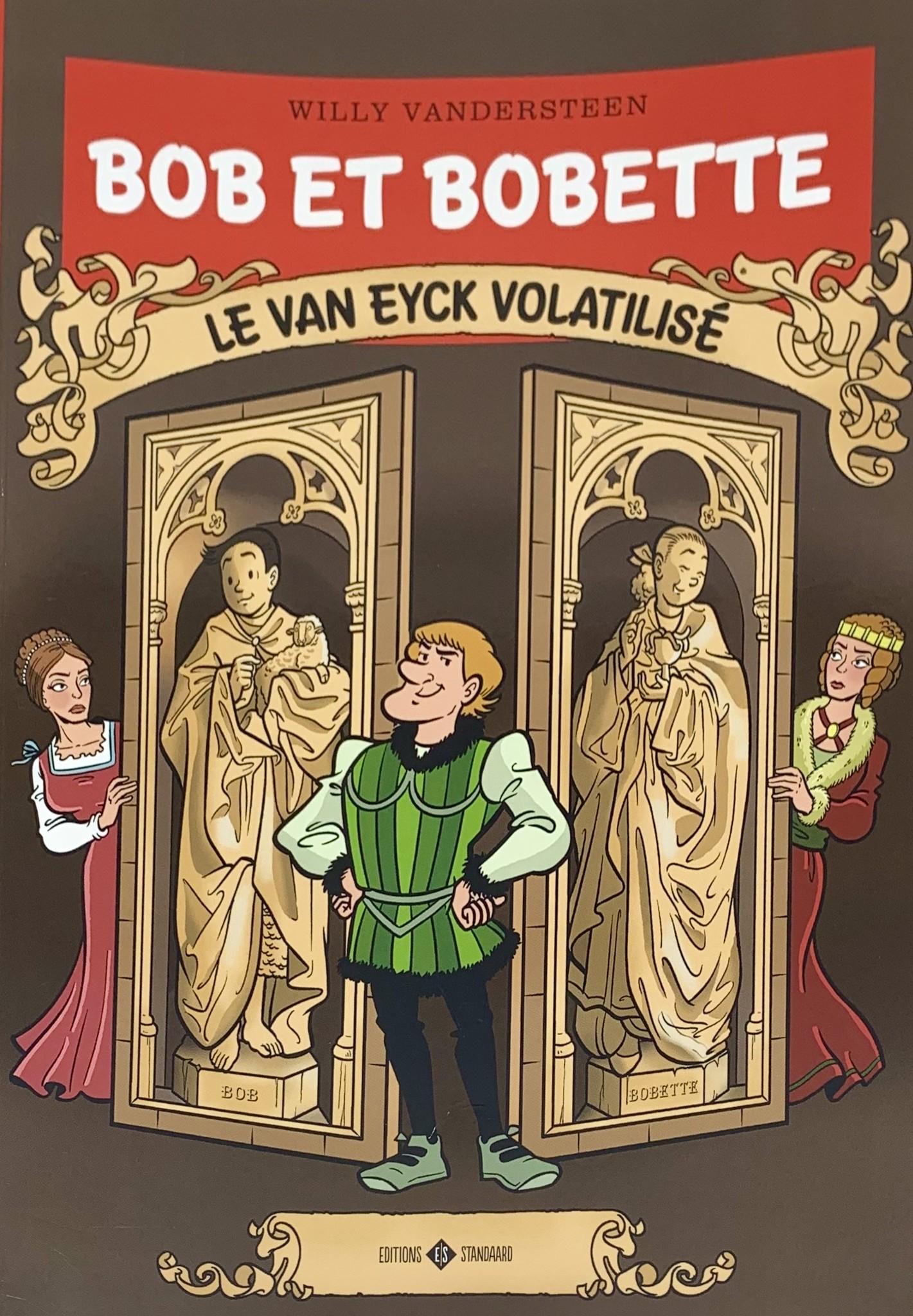 Willy Vandersteen Bob et Bobette - Le Van Eyck volatilisé  (Spike and Suzy - The Lost Van Eyck)