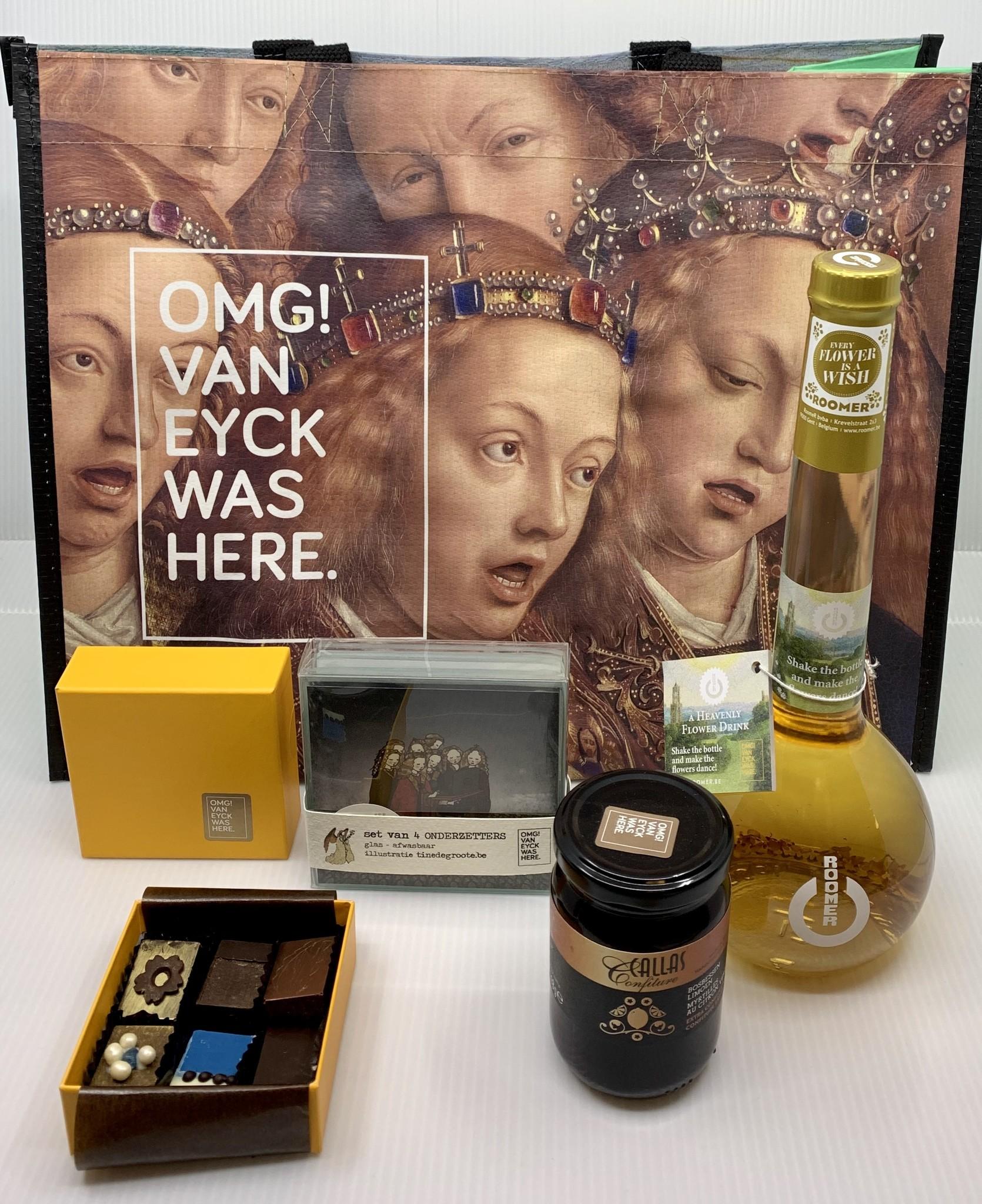 Van Eyck shop Gift box 'Santé & Smakeleyck'