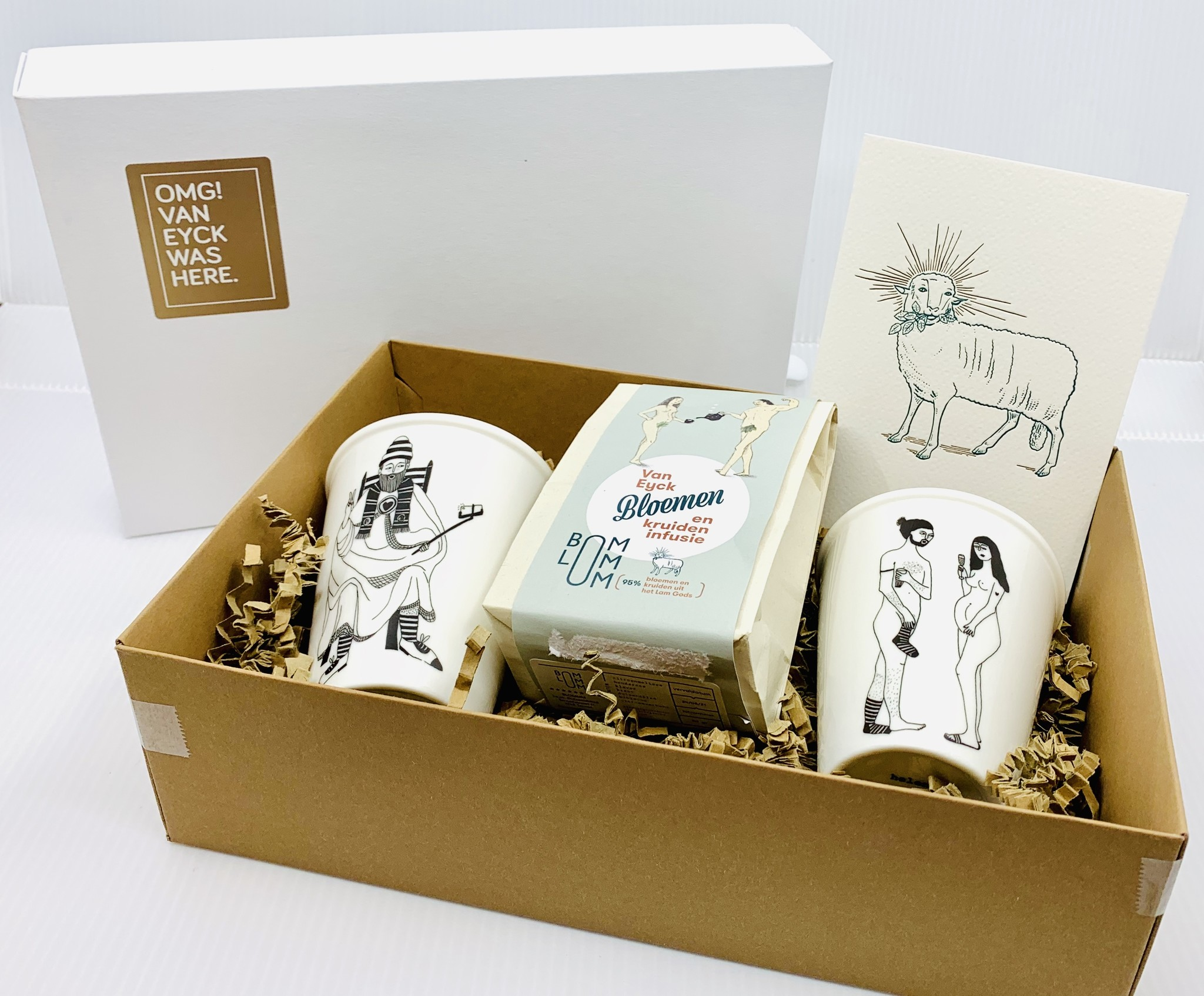 Van Eyck shop Gift box 'Tea-time'