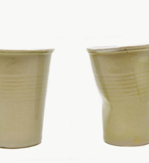 Carron Ceramics Pair of coffee cups - Carron Ceramics