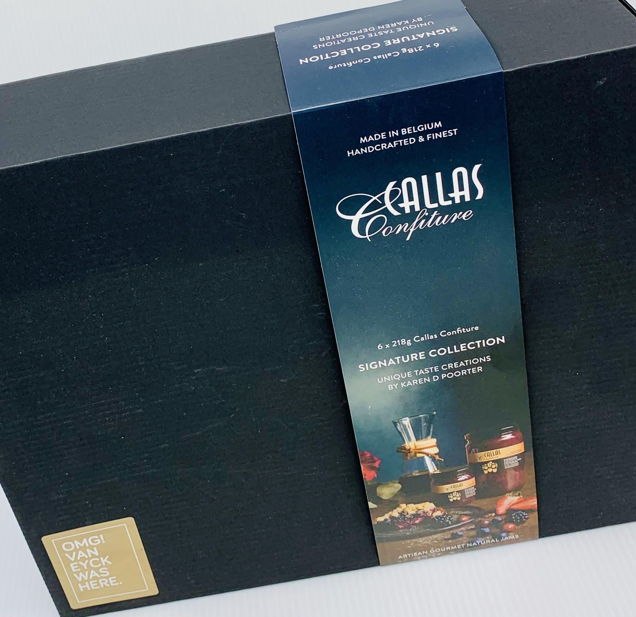 Van Eyck shop Luxe doos confituur - Callas Confiture