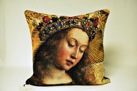Meisterwerke Cushion Head of Mary - Meisterwerke
