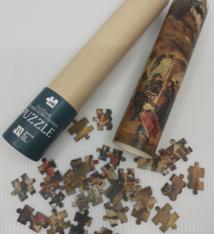 MSK Jigsaw puzzle.  Van Eyck. An Optical Revolution - MSK