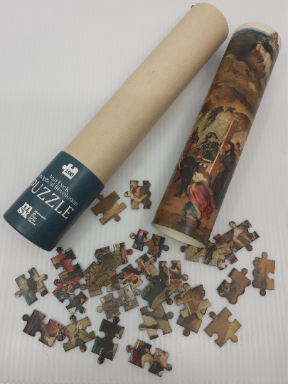 MSK Puzzel.  Van Eyck. An Optical Revolution - MSK