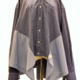 Studio AMA Unieke hemdblouse grijs - Studio AMA