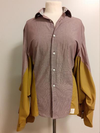 Studio AMA Unique shirt blouse brown - Studio AMA