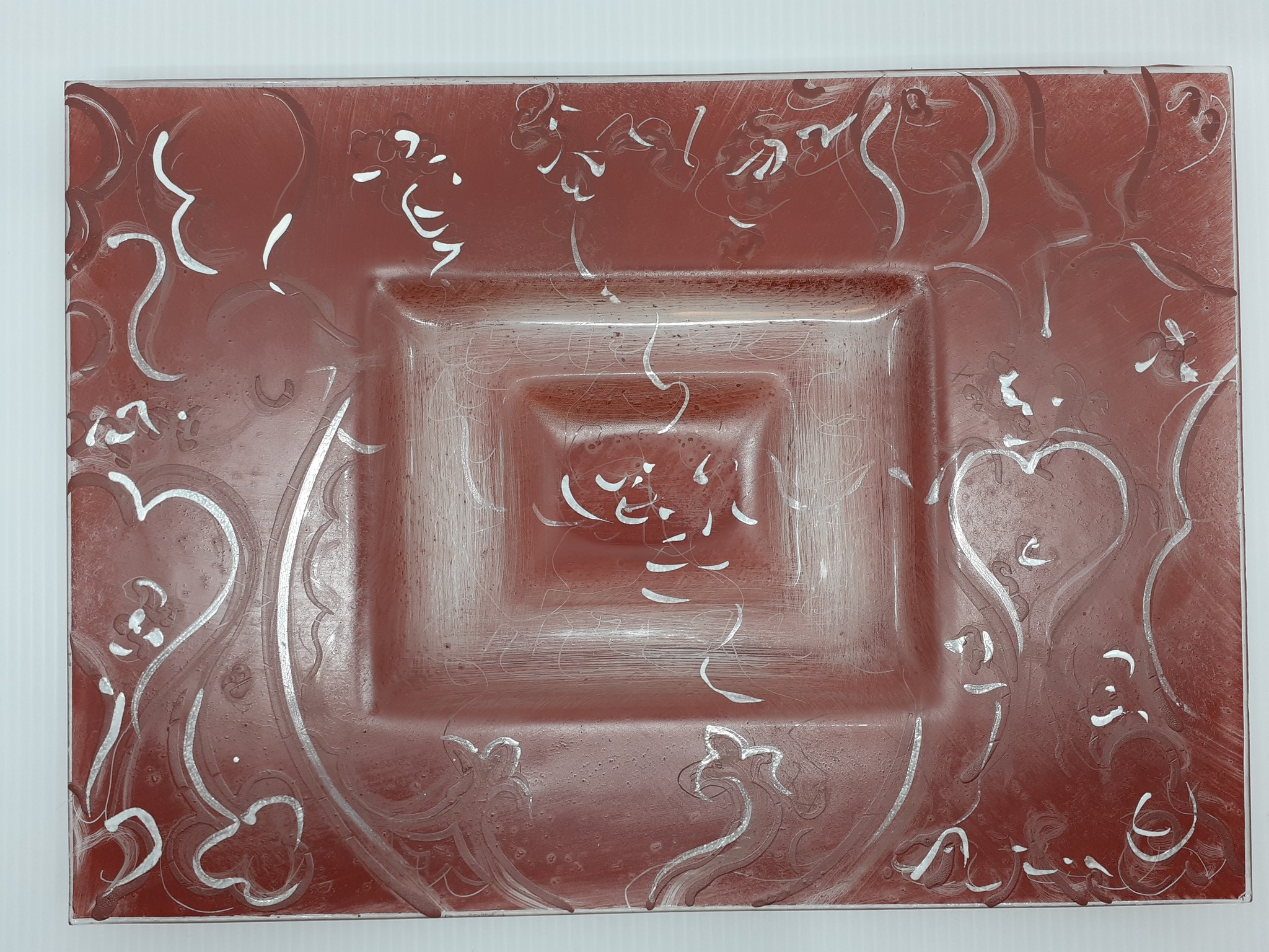 Atrium Unieke schaal in glaspasta - Atrium