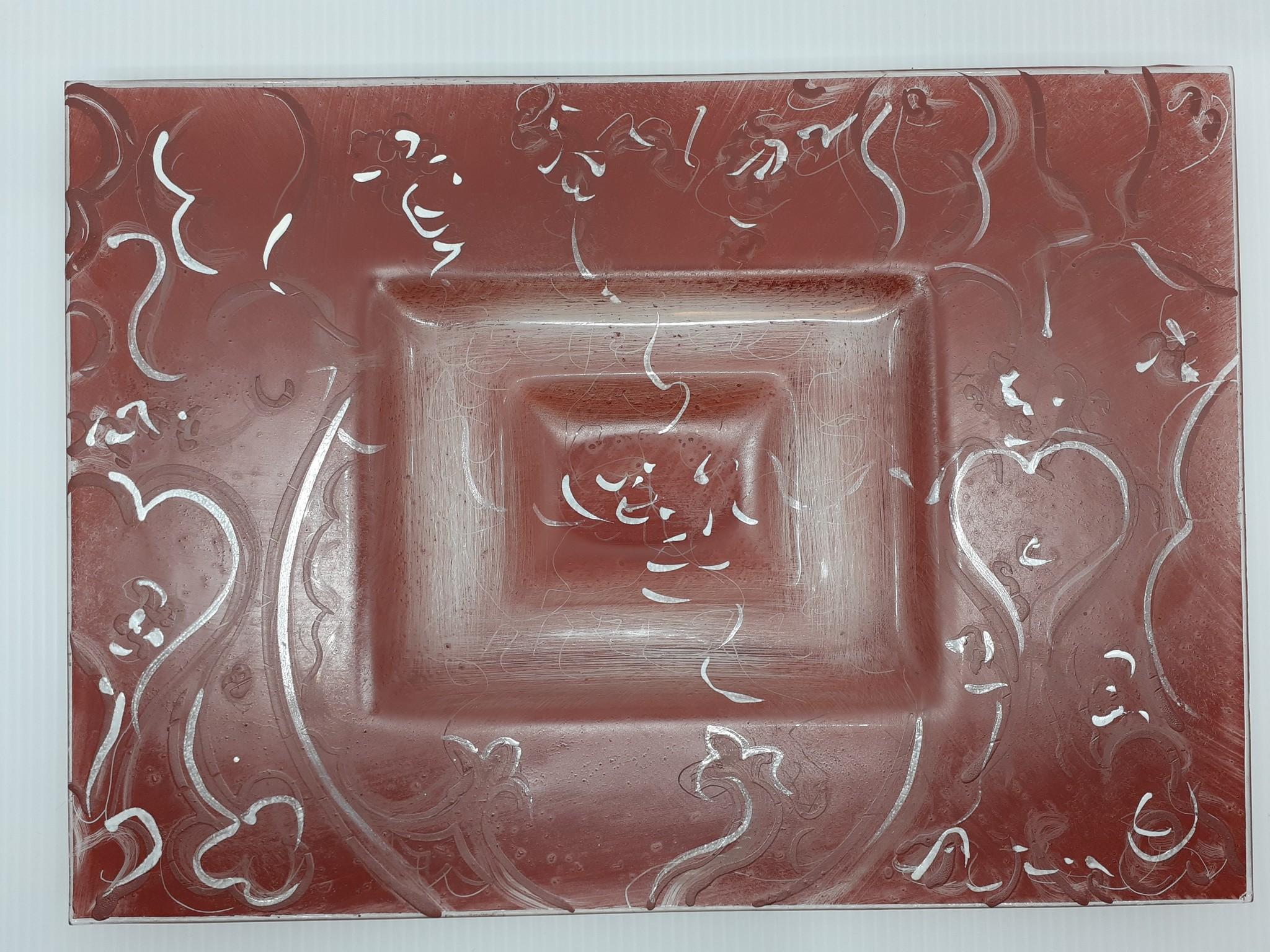 Atrium Unique bowl in glass paste - Atrium