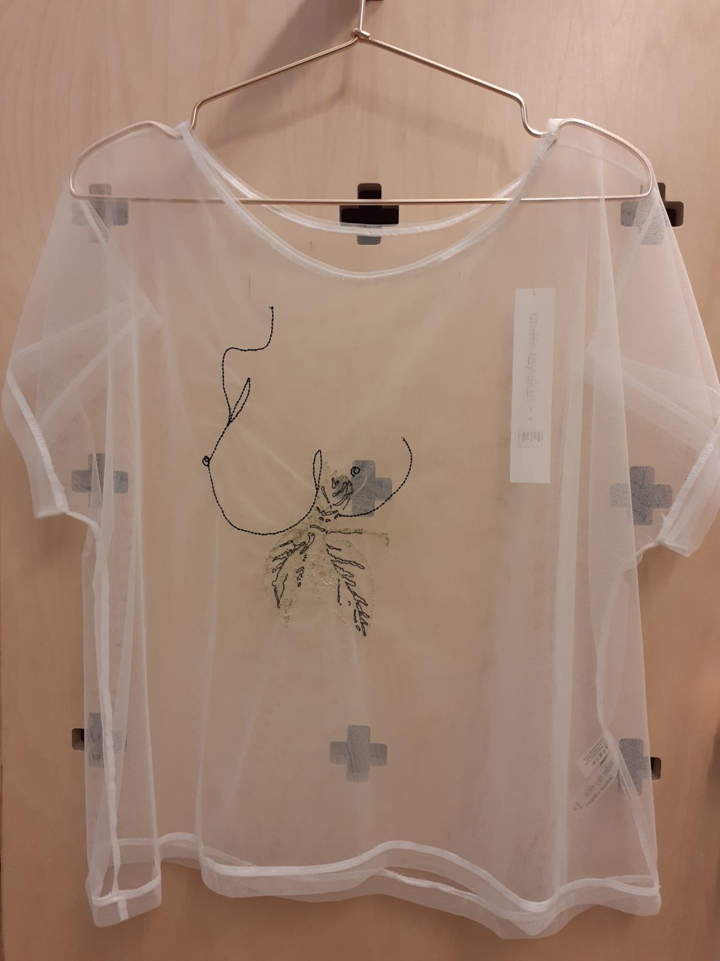 Under thy skin Geborduurde lingerie-shirt 'Eva' - Under th - PROMOTIEy skin