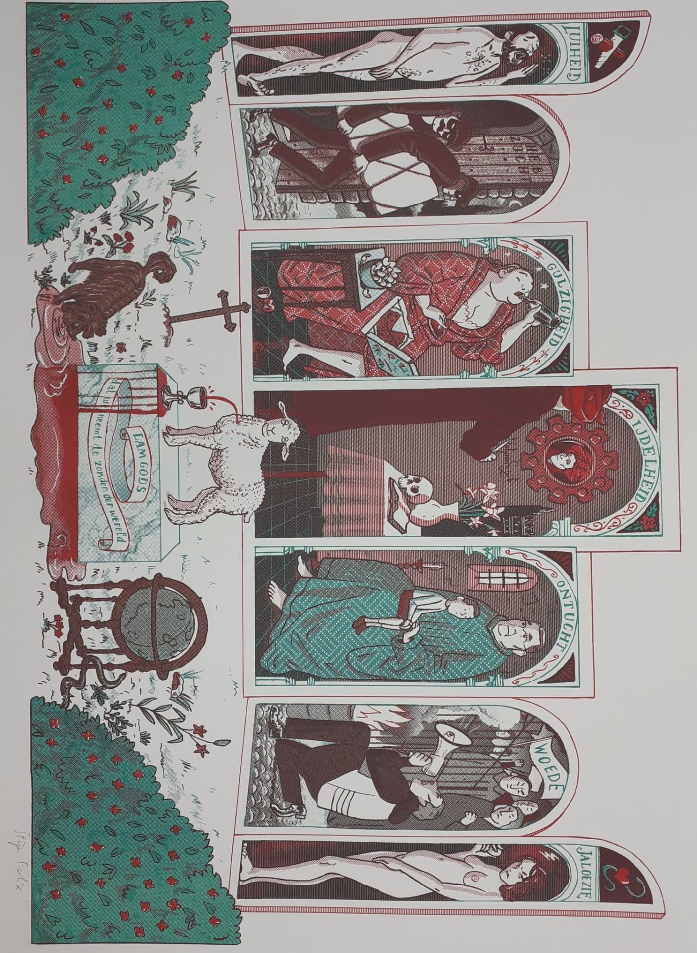 Jozias Boone Genummerde print - Jozias Boone