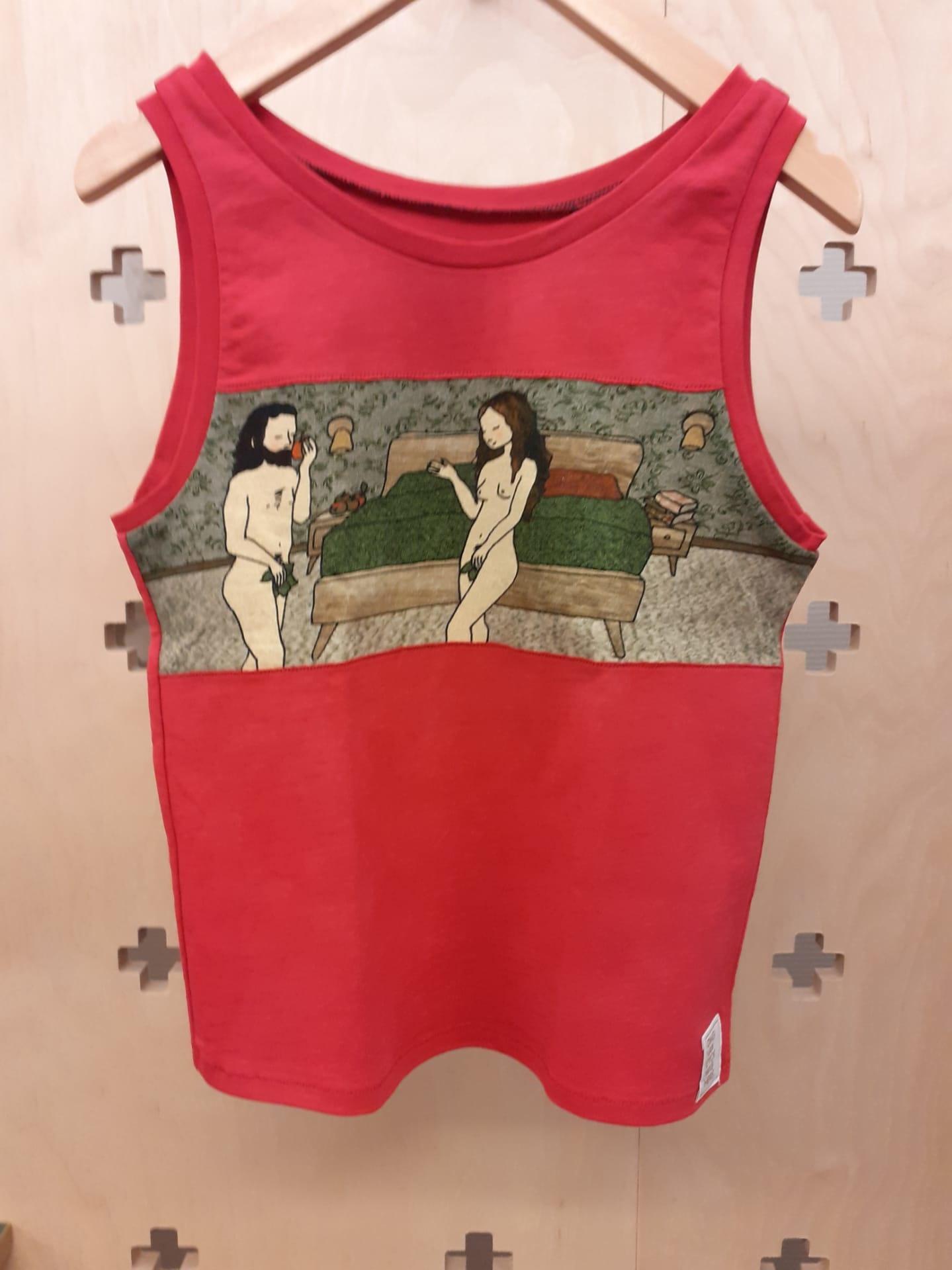 Tine De Groote Unique children's top shirt with motifs of the Ghent Altarpiece - Tine De Groote