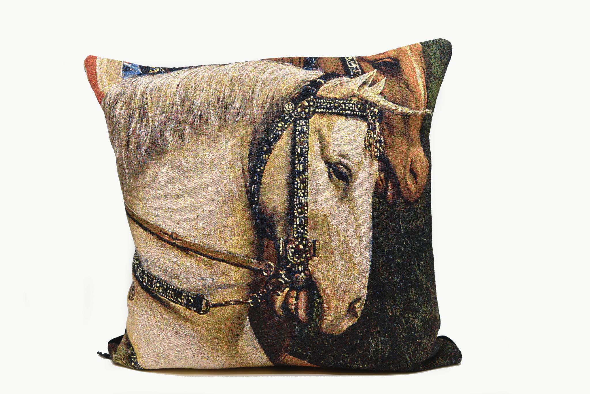 Meisterwerke Kussen hoofd van Paard van het paneel van de Rechtvaardige Rechters - Meisterwerke