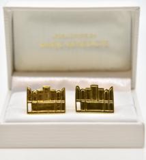 Marie-Bénédicte De Schryver Gilded cufflinks triptych - Marie-Bénédicte De Schryver