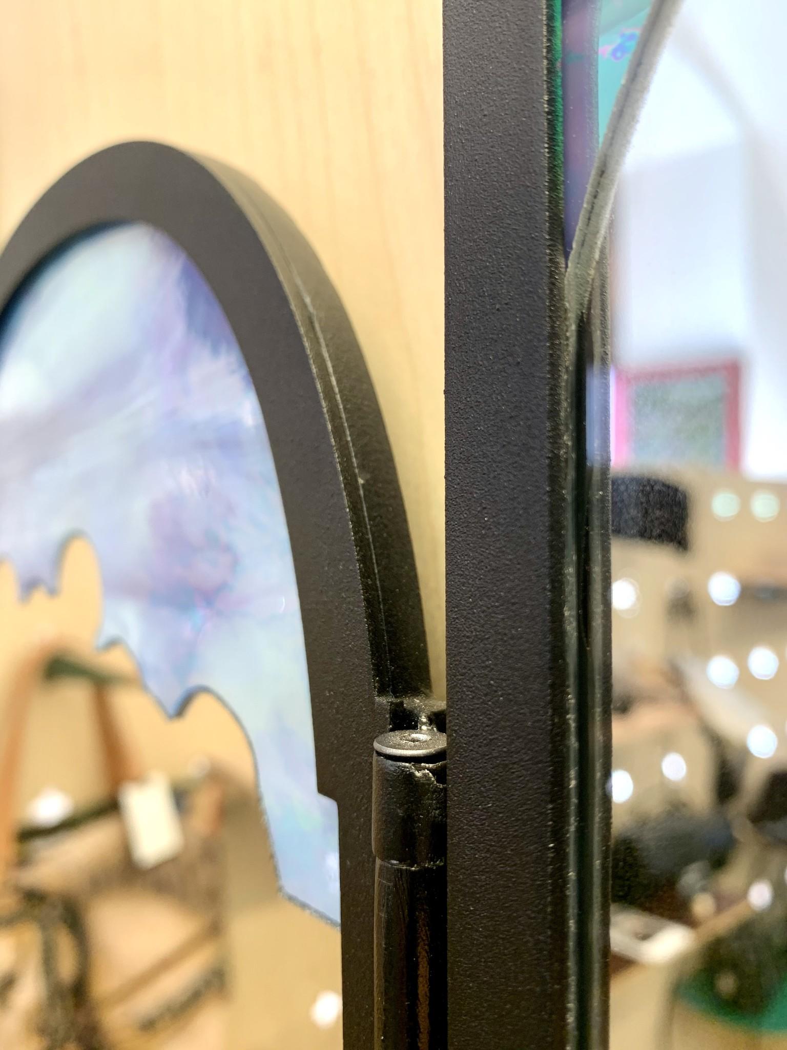 Veerle Verschooren Unieke spiegel contouren Lam Gods - Veerle Verschooren