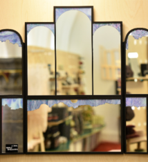 Veerle Verschooren Unique mirror with the contours of the Ghent Altarpiece - Veerle Verschooren