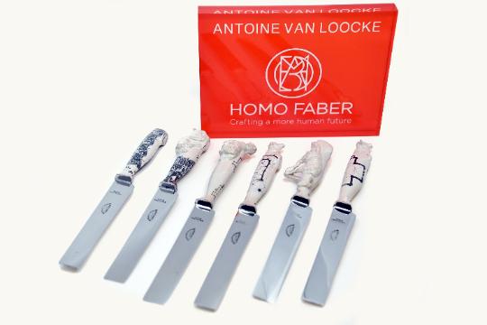 Antoine Van Loocke Knife block - Antoine Van Loocke