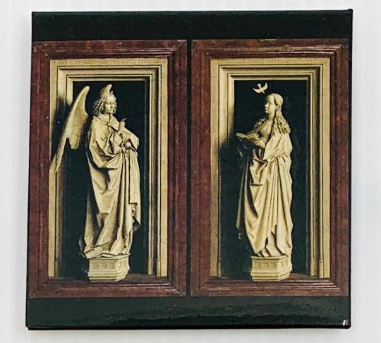 MSK Magnet Annunciation diptych - MSK
