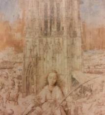 MSK Magneet 'De Heilige Barbara' - MSK
