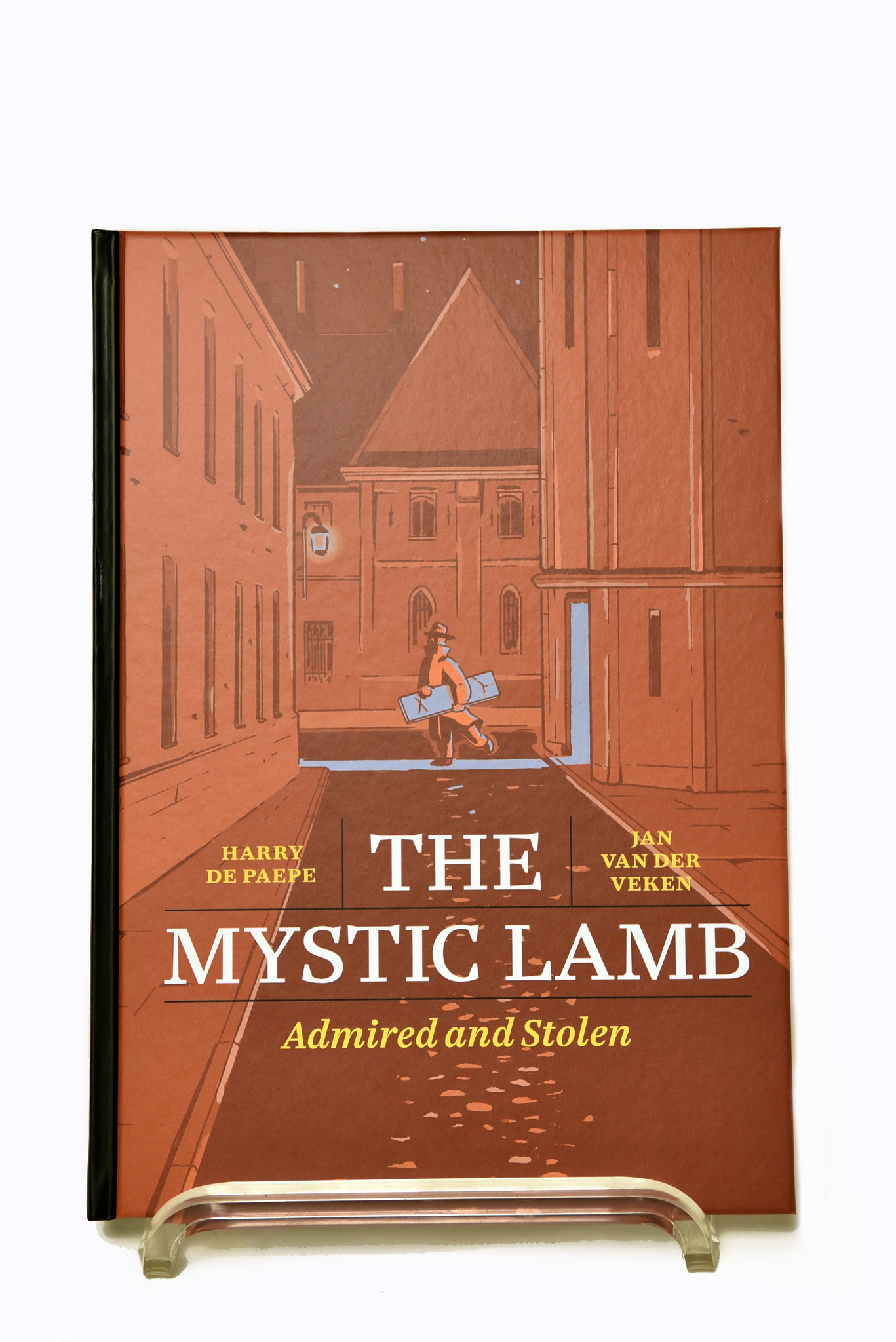 Uitgeverij Ballon Media The Mystic Lamb. Admired and Stolen (English) - Harry De Paepe & Jan Van Der Veken
