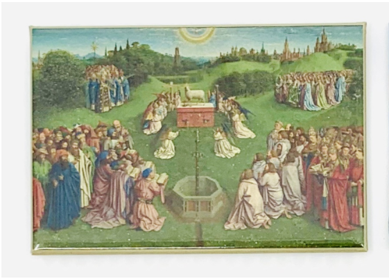 Sint-Baafskathedraal Magnet Ghent Altarpiece