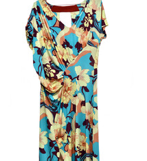 Nathalie Engels Dress with flowers - Nathalie Engels