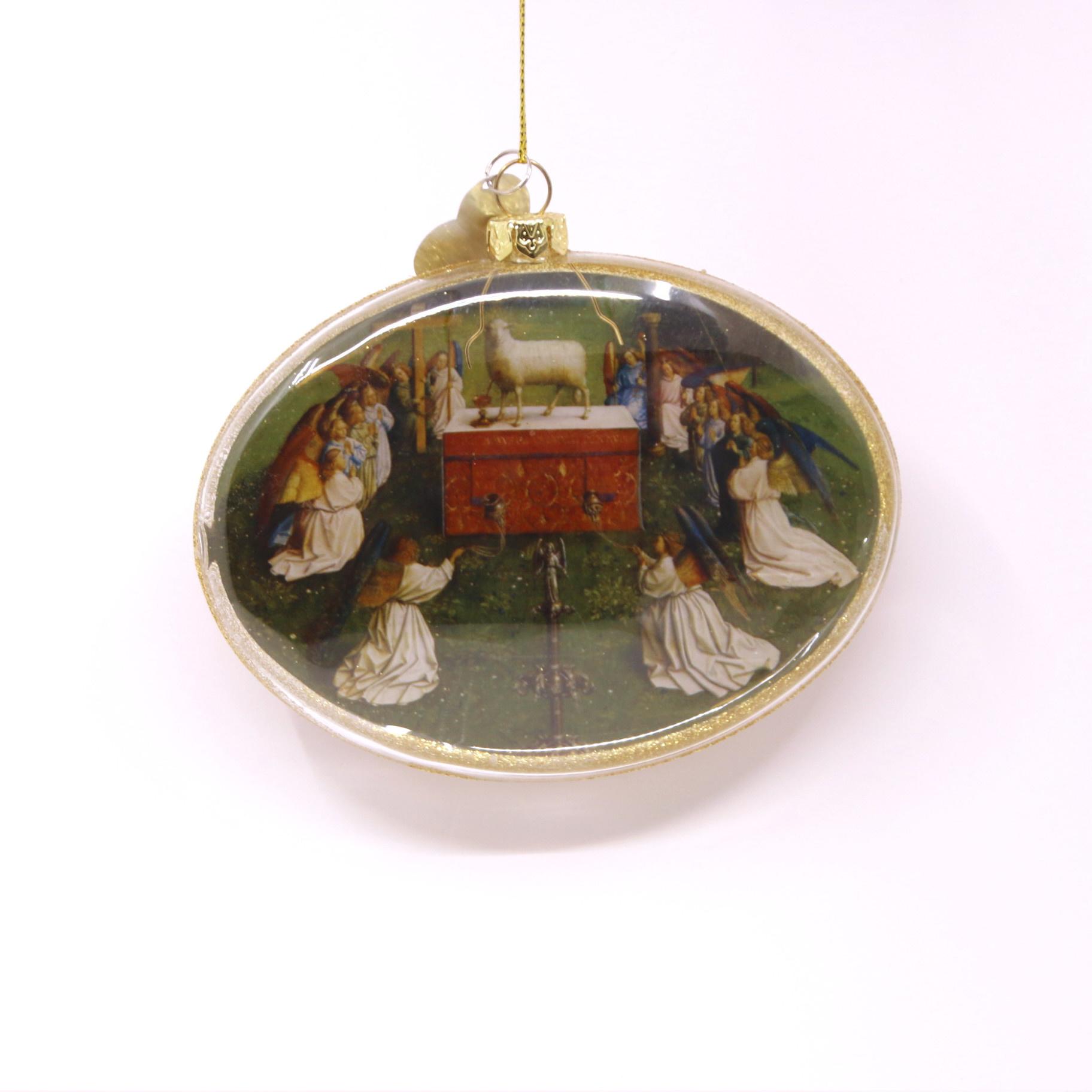 Sint-Baafskathedraal Kerstbal Middenpaneel Lam Gods