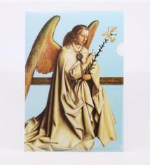 Sint-Baafskathedraal A4-mapje met de engel Gabriël