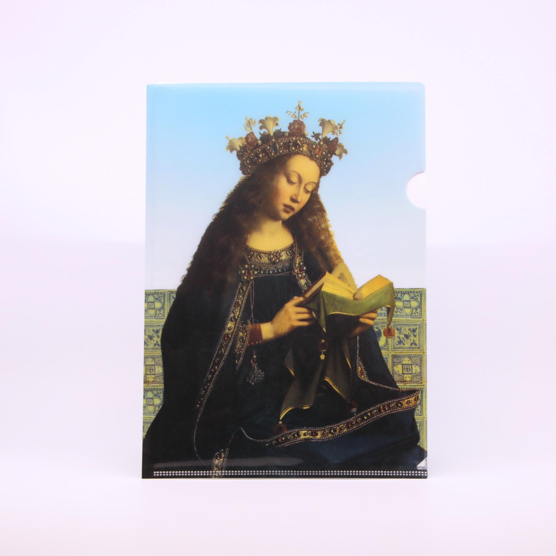 Sint-Baafskathedraal A4-mapje met afbeelding van Maria