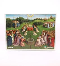 Sint-Baafskathedraal Puzzel  Lam Gods - 1000 stuks