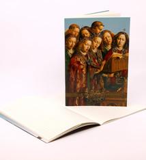 Sint-Baafskathedraal Schriftje Zingende Engelen