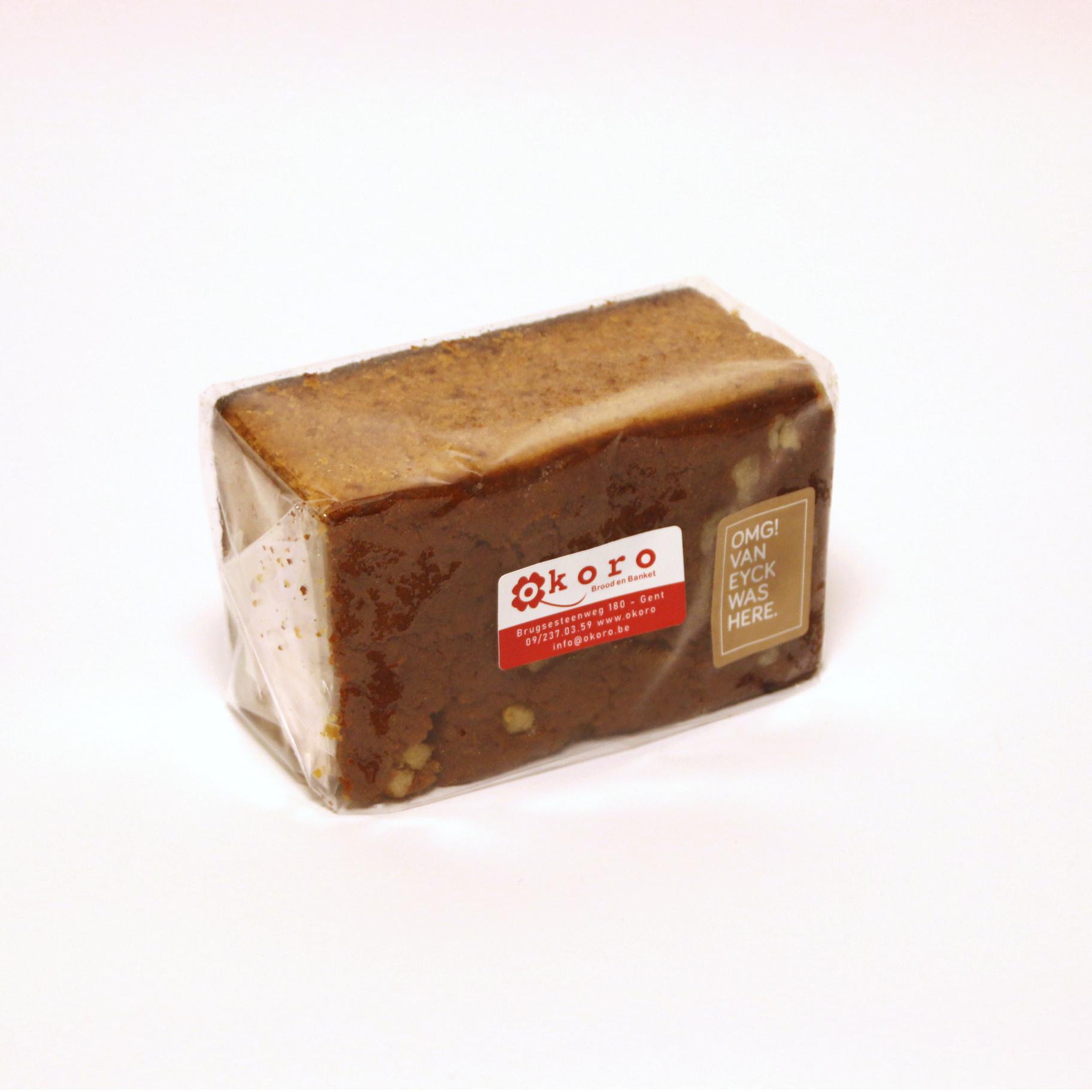 Okoro Fresh gingerbread with Tierenteyn herb mixture - Bakery Okoro