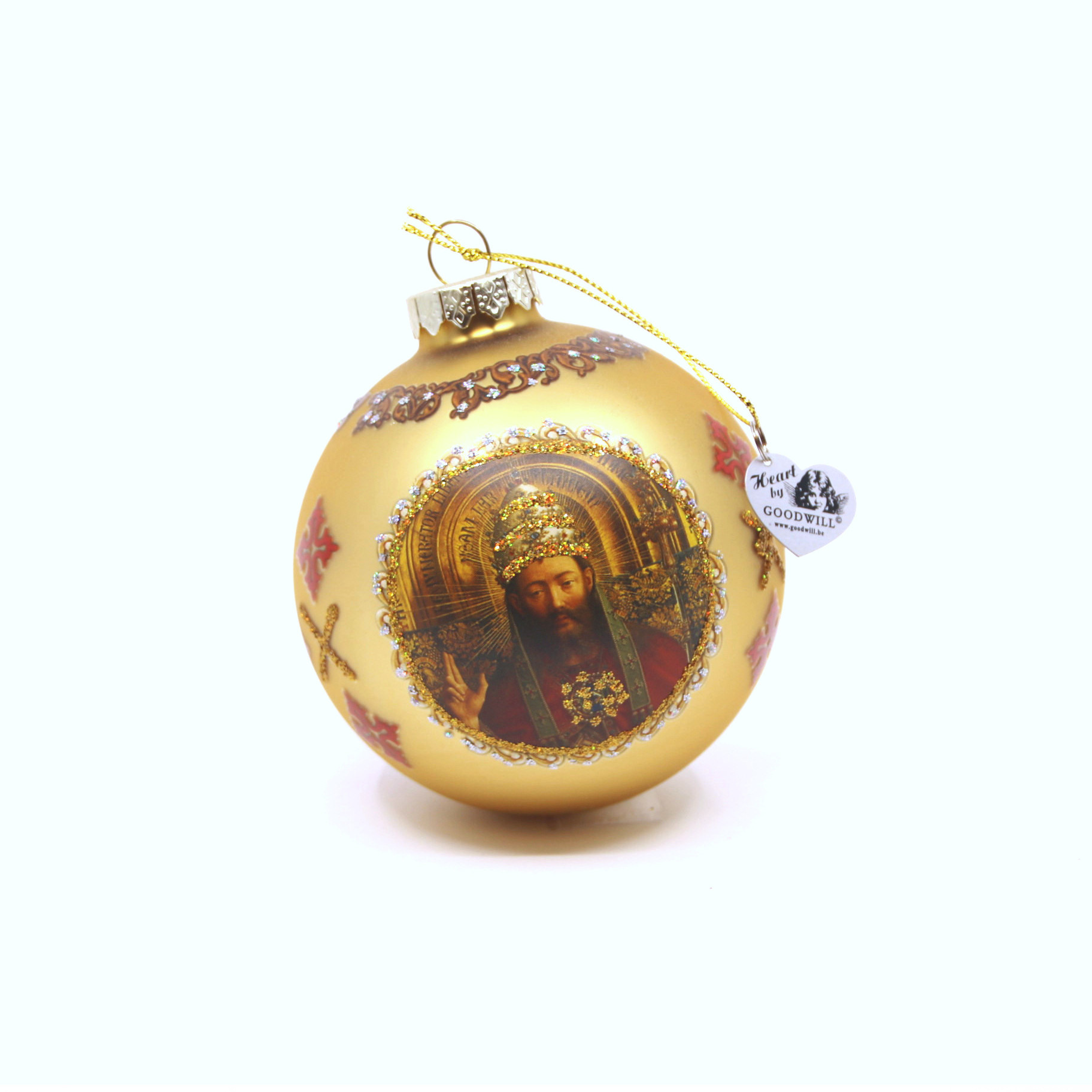 Sint-Baafskathedraal Pakket Kerstballen - Johannes De Doper, Maria en Engel
