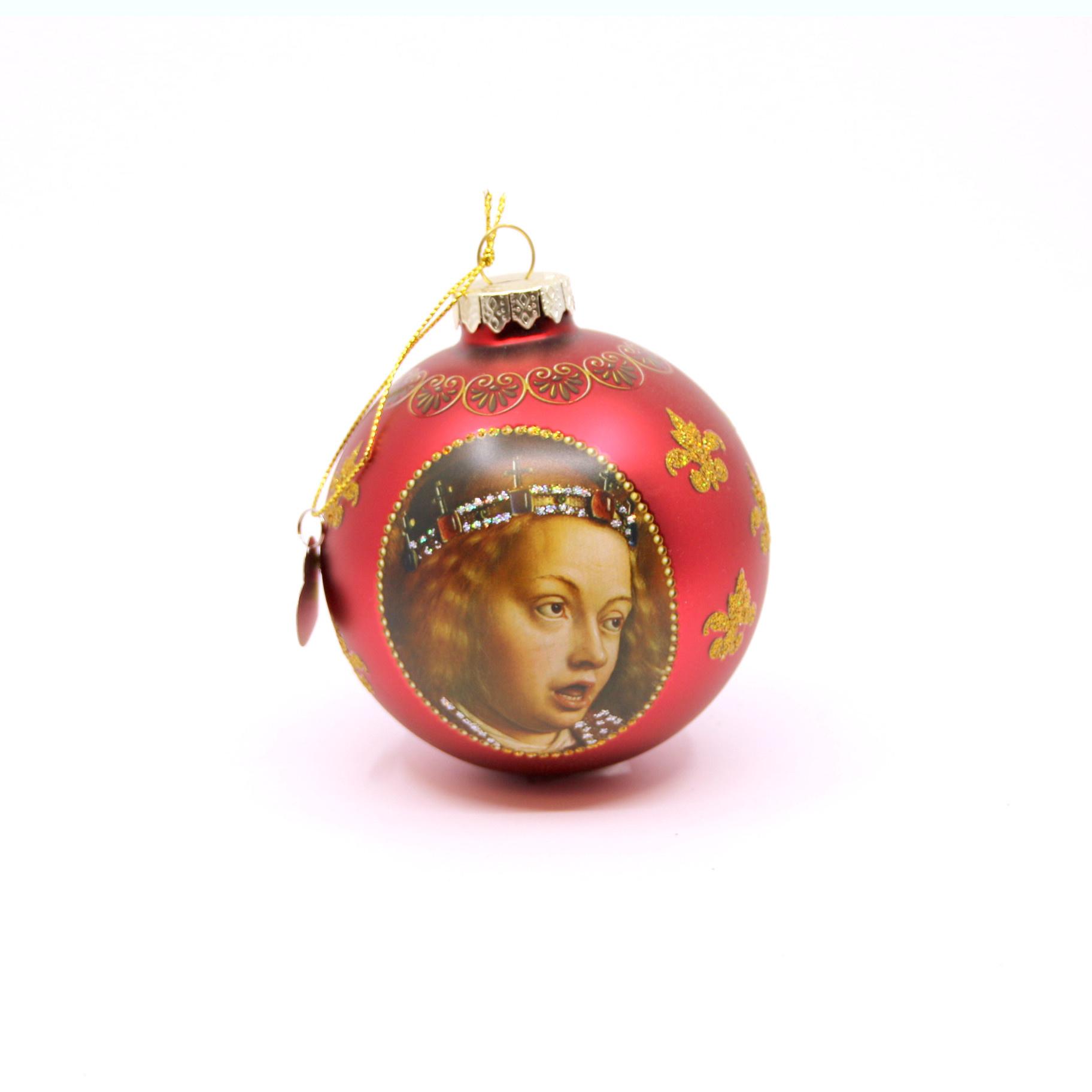 Sint-Baafskathedraal Pakket Kerstballen - God de Vader, Maria en Engel