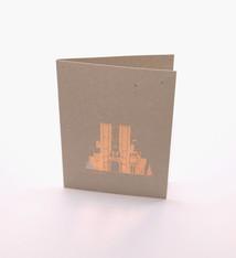 mmmMar Postcard  Castle of the Counts Gold - mmmMar