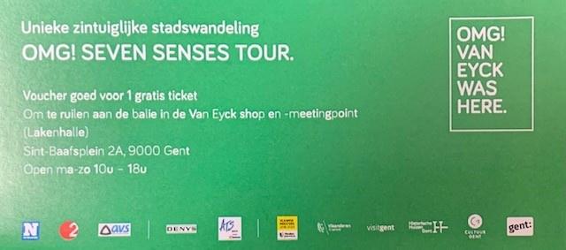 OMG Voucher OMG! Seven Senses tour