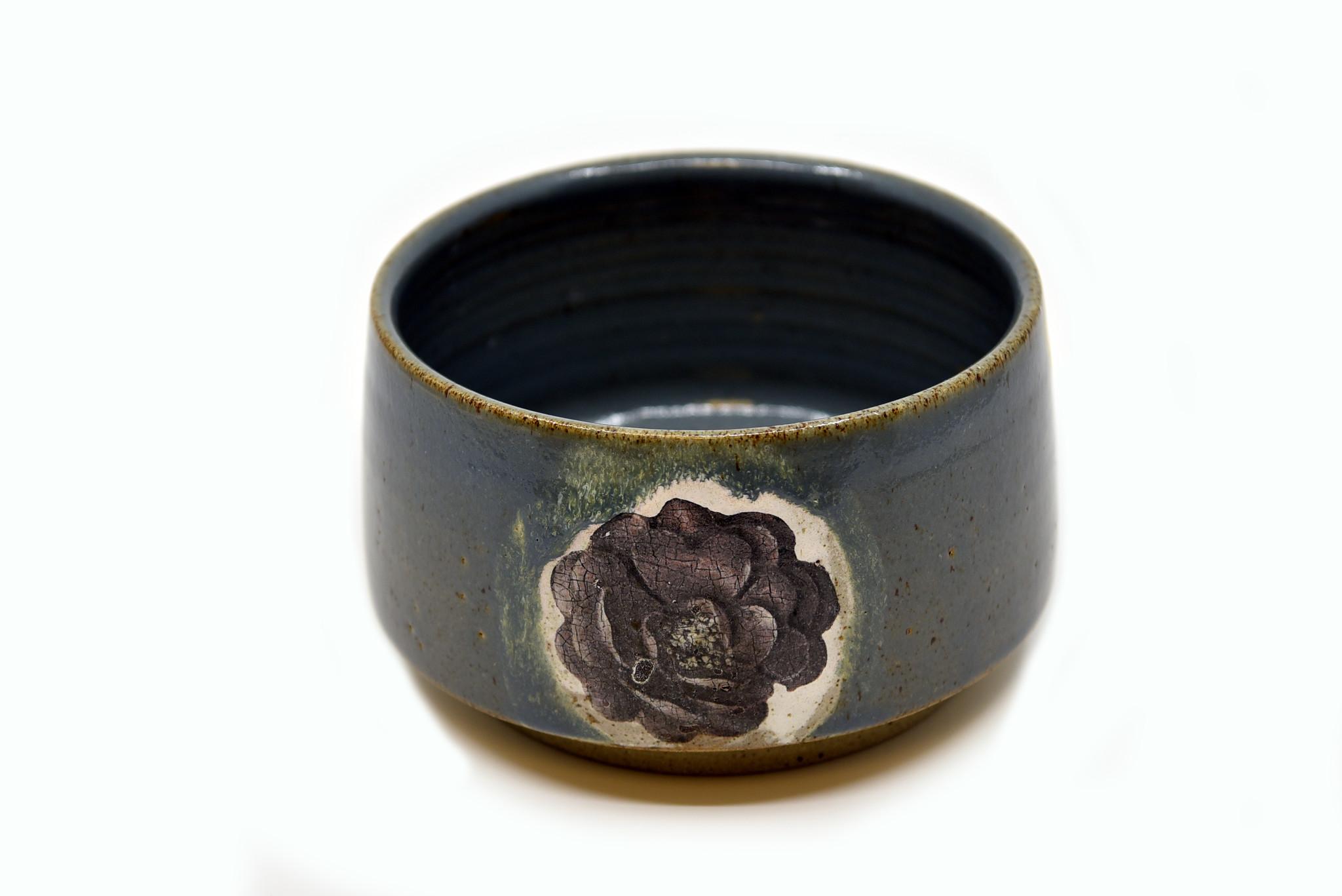 Atelier Caro-K Unique handmade ceramic dish - Atelier Caro-K - Diameter 20 cm