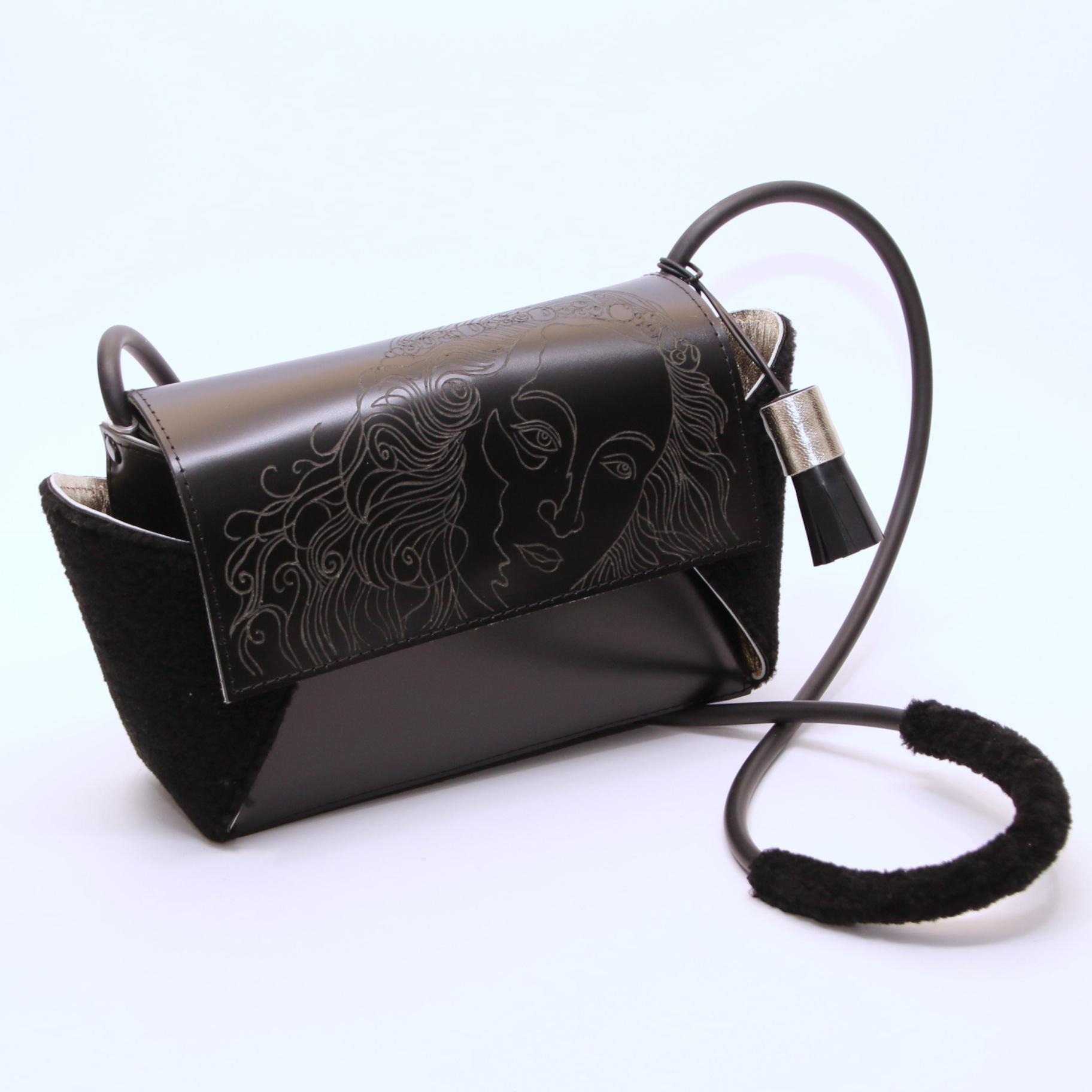 PAARL Unique handmade and engraved handbag - PAARL