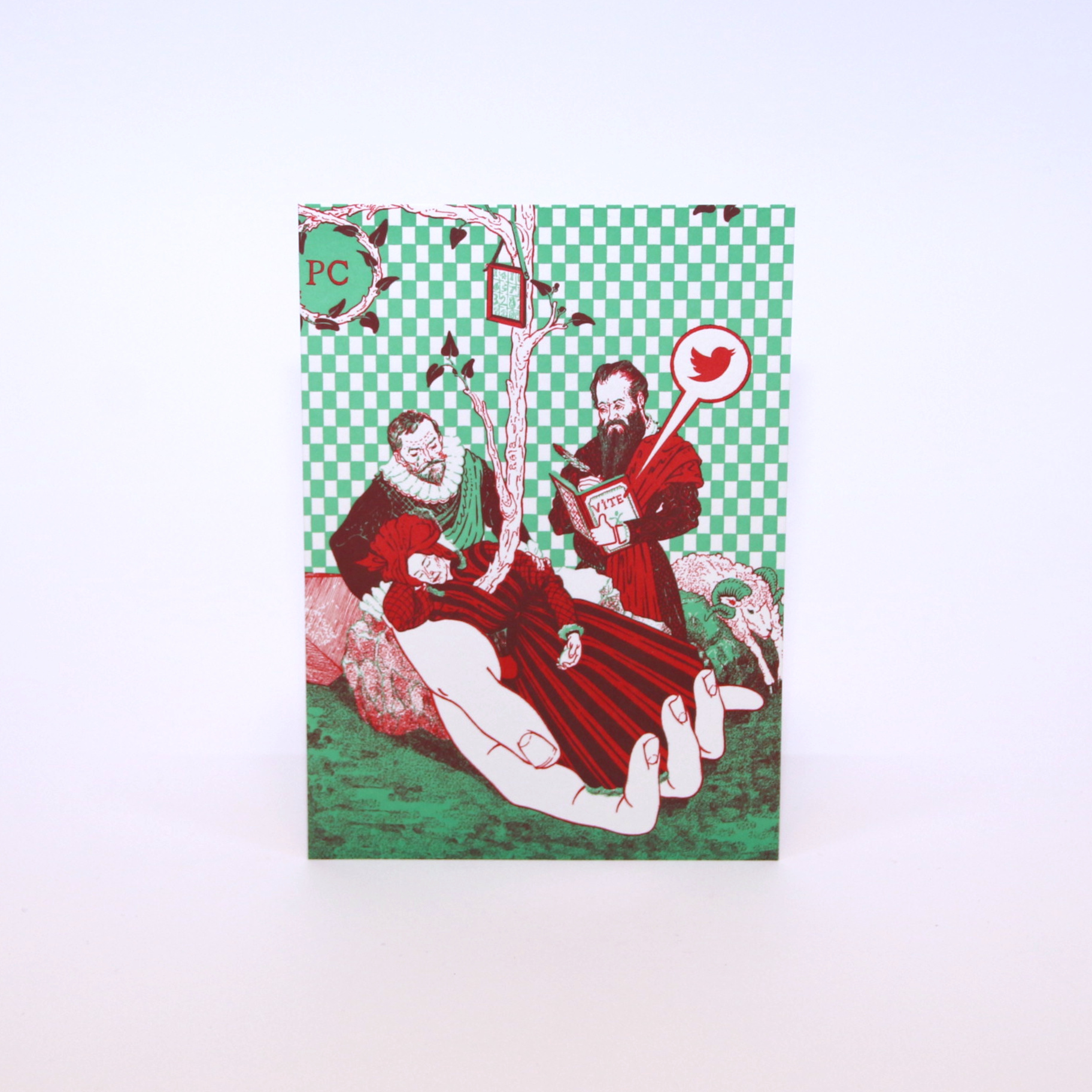 Jozias Boone Luxury postcard with envelope - Jozias Boone