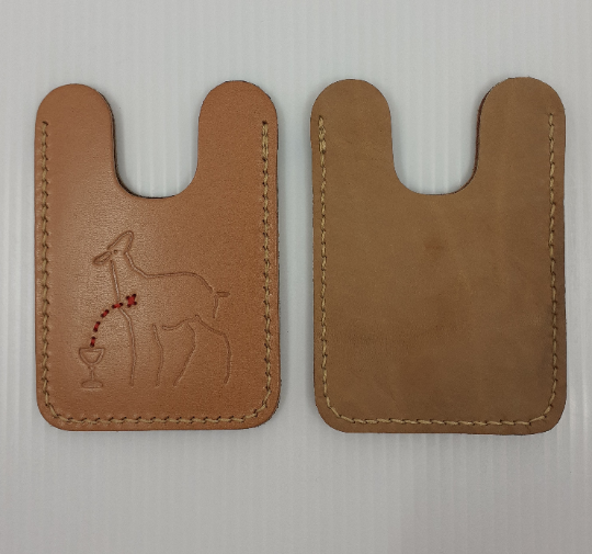 Marlies Davans Leather cardholder - Marlies Davans -