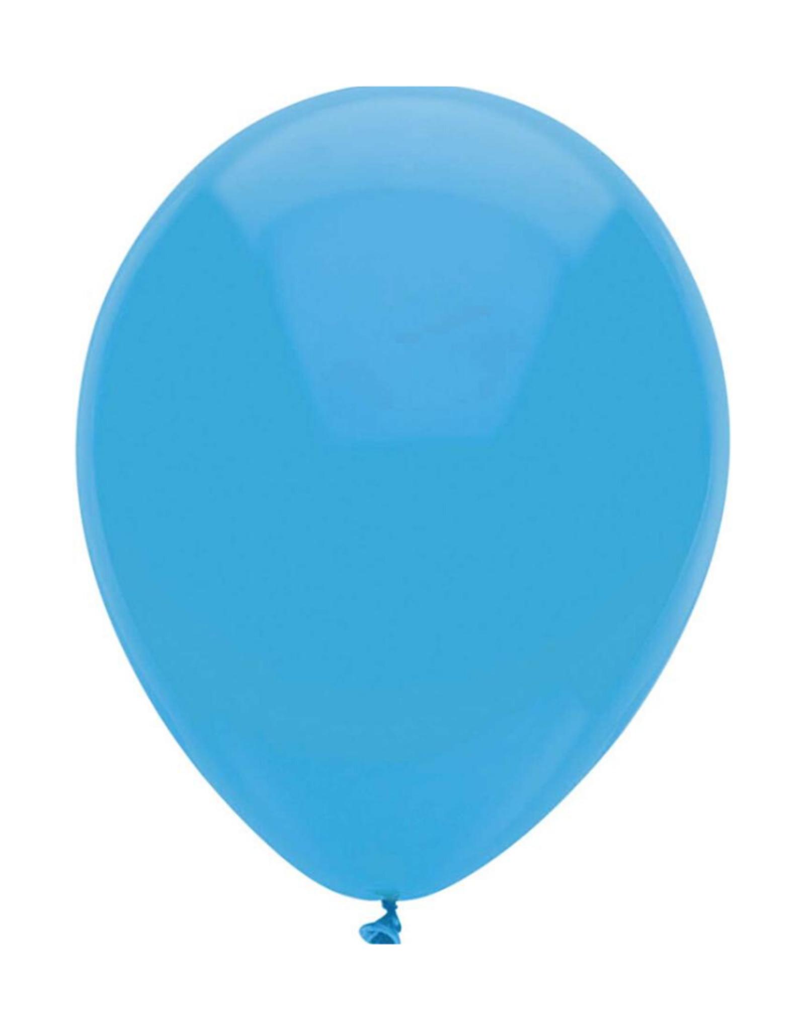 Haza Ballon Blauw Uni Jongen 30cm