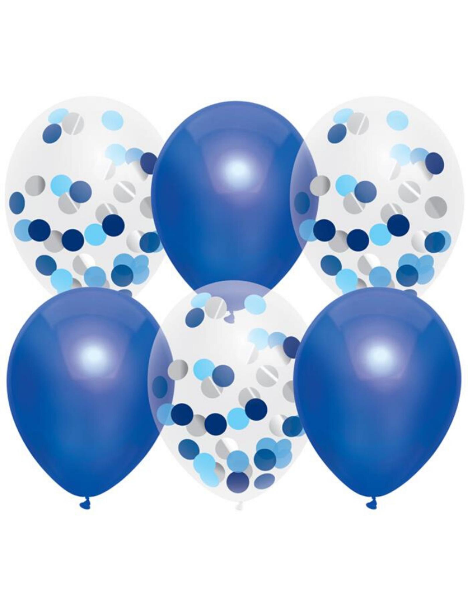 Haza Ballonnenmix  Royal Blue 6st.