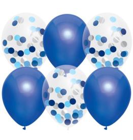 Haza Ballonnenmix  Blauw