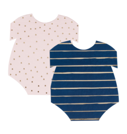 Ginger Ray Servetten Navy & Pink