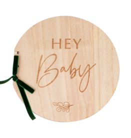 Ginger Ray Botanical Hey Baby Gastenboek